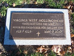 Virginia <I>West</I> Hollingshead