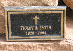 Violet G Smith