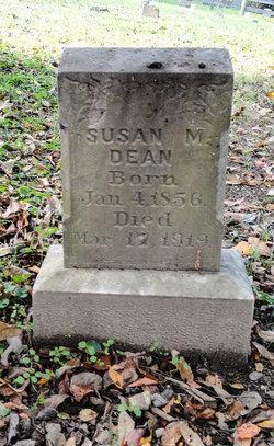 Susan M Dean