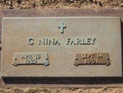 Clara Nina <I>Bull</I> Farley