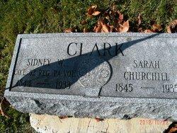 Sarah <I>Churchill</I> Clark