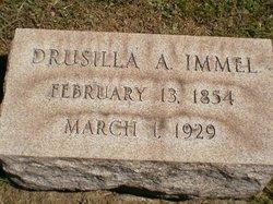 Drusilla A. <I>Zimmerman</I> Immel