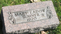 Mary <I>Ladow</I> Sumner
