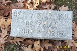 "Elizabeth ""Bettie"" <I>Stevenson</I> Coffman"