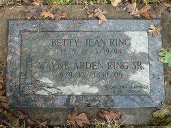 Wayne Arden Ring, Sr