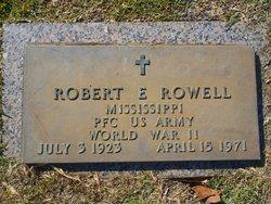 PFC Robert E. Rowell