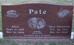 Mary Elizabeth Pate