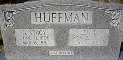 Len <I>Littrell</I> Huffman