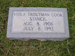 Viola <I>Troutman</I> Cook Stancil