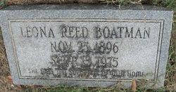 Leona <I>Reed</I> Boatman