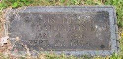 Dr Rufus Henry Tomlinson
