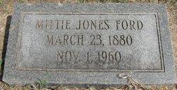 Mittie <I>Jones</I> Ford