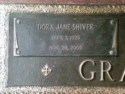 Dora Jane <I>Shiver</I> Graham