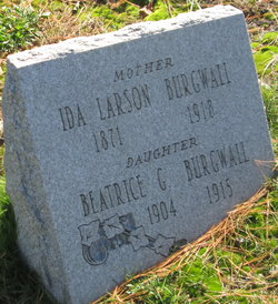 Ida <I>Larson</I> Burgwall