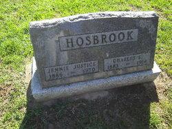 Jennie <I>Justice</I> Hosbrook