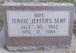 Marie <I>Jeffers</I> Serf