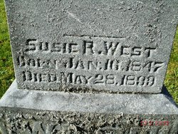 Susie R <I>Albro</I> West