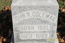 John W Coleman