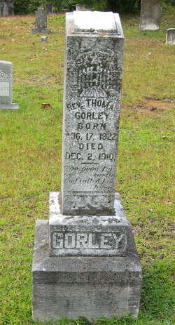 Rev Thomas Gorley