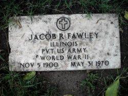 Pvt Jacob R Fawley