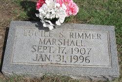 Lucile S. <I>Rimmer</I> Marshall
