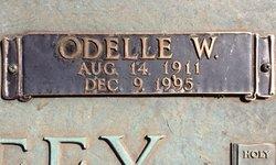 "Alice Odelle ""Odelle"" <I>Willard</I> Mahaffey"