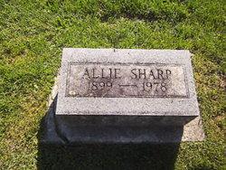 Allie Marie <I>Blackard</I> Sharp