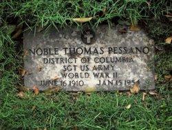 Sgt Noble Thomas Pessano