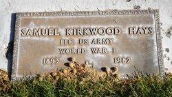 Samuel Kirkwood Hays