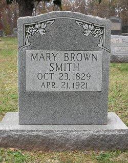 Mary <I>Brown</I> Smith