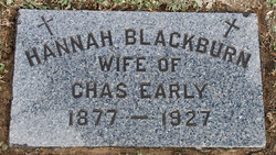 Hannah <I>Blackburn</I> Early
