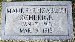 Maude Elizabeth Schleigh