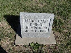 Mabel Olive <I>Lang</I> Knight