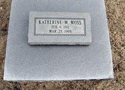 Katherine M. <I>Johannes</I> Moss