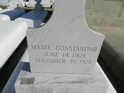 Mabel <I>Nicholas</I> Constantine