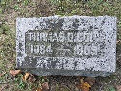 Thomas D Cook