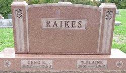 Geno <I>Evans</I> Raikes