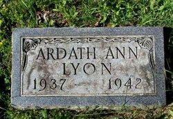 Ardath Ann Lyon