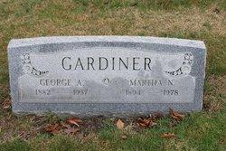 George A Gardiner