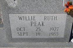 Willie Ruth Peak