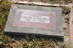 Helen K. <I>Eyanson</I> Golden