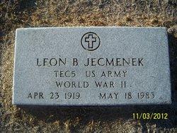 Leon B Jecmenek