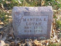 Martha E Lovan