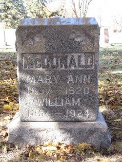 Mary Ann McDonald