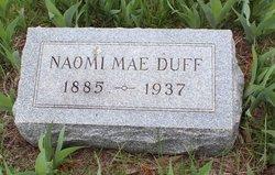 Naomi Mae <I>Summers</I> Duff