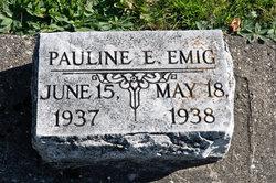 Pauline Elizabeth Emig