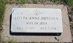 Lotta Anne Dutcher