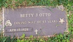 Betty J. <I>Sprecher</I> Otto