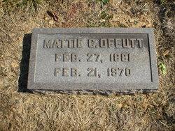 Mattie C Offutt