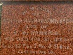 Martha Hannah <I>Montgomery</I> Warnica